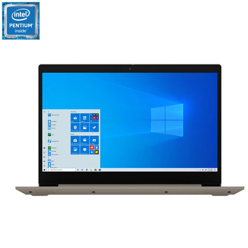 Lenovo Ideapad 3 15 6 Laptop Almond Intel Pentium Gold 6405u 1tb Hdd 8gb Ram Windows 10 Best Buy Canada