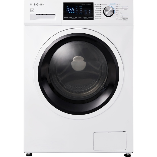 Insignia 2.7 Cu. Ft. High Efficiency Compact Front Load Washer - White