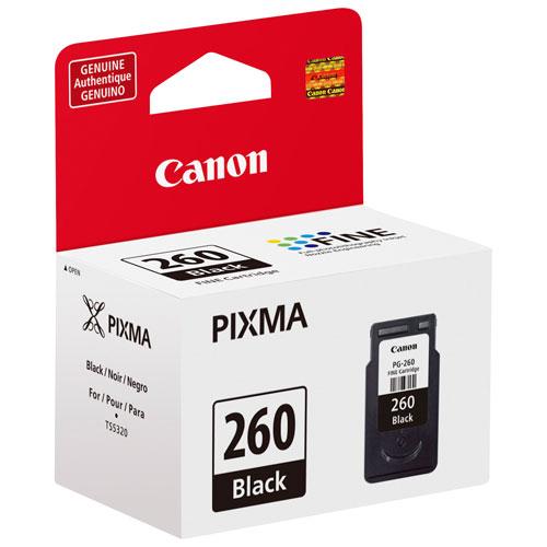 Cartouche d'encre noire PG-260 de Canon