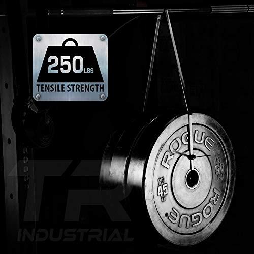 Tensile Strength TR Industrial Ultra Heavy Duty Multi-Purpose UV Cable Ties 50-Piece 250 lbs 8.9 Black