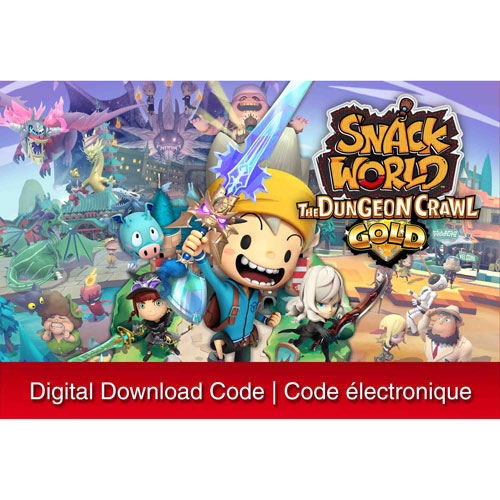 Snack World: The Dungeon Crawl - Gold - Digital Download