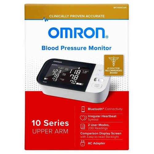 Omron BP-745 - Blood Pressure Monitor With Bluetooth Connectivity