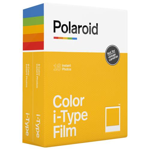 Film instantané couleur i-Type de Polaroid Originals - Paquet de 16