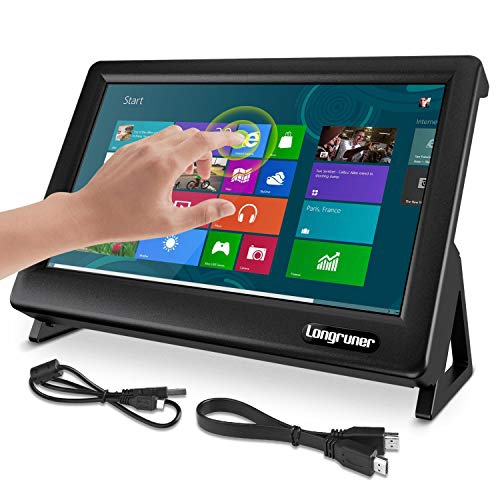 Longruner 7 Inch Raspberry Pi Touch Screen 1024x600 Lcd Display Hdmi Monitor With Protective Case Stand Best Buy Canada