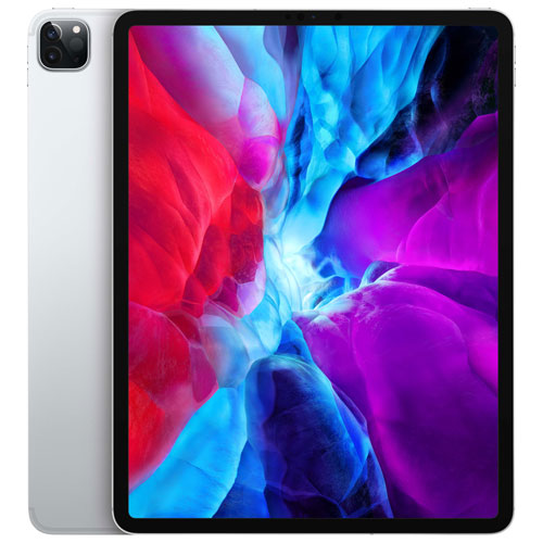 "Apple iPad Pro 12.9"" 512GB with Wi-Fi & 4G LTE - Silver"