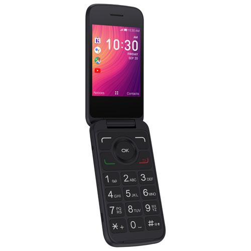 Chatr Alcatel GO FLIP 3 - Black - Prepaid