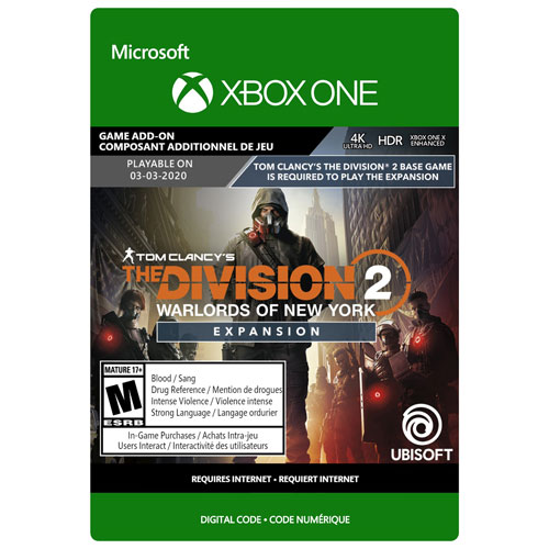 Tom Clancy's The Division 2: Warlords of New York Expansion - Digital Download