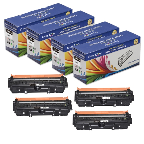 PrintOxe® CE314A Compatible Set of 4 Drum Units for Printers Using 130A / 126A
