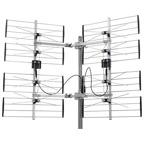 Antenne de télévision multidirectionnelle amplifiée extérieure d'Electronic Master