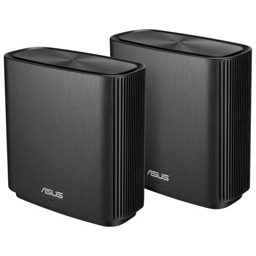 Système Wi-Fi 5 maillé tribande maison intégrale AC3000 ZenWifi ASUS - Gris - Lot 2