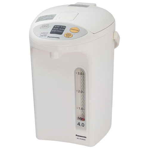 Panasonic Hot Water Dispenser - 4L - White