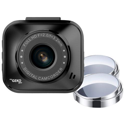"myGEKOgear Orbit 122 Full HD 1080p Dash Cam with 2"" LCD Screen & Blind Spot Mirrors"
