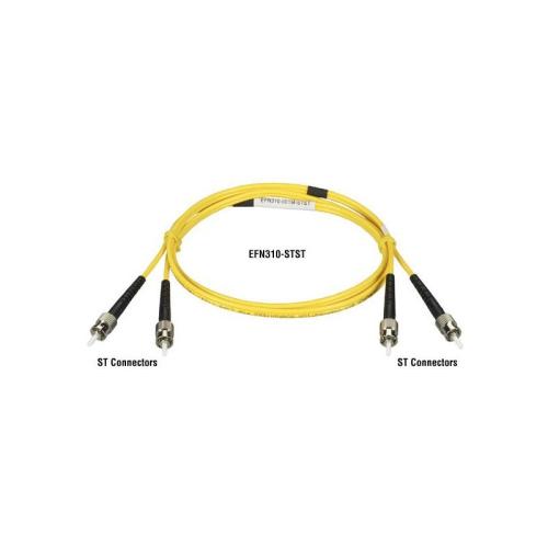 BLACK BOX 9.0-MICRON CABLE, SC SC, PVC, 2-M