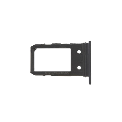 Replacement Sim Card Tray Compatible With Google Pixel 3a - Black