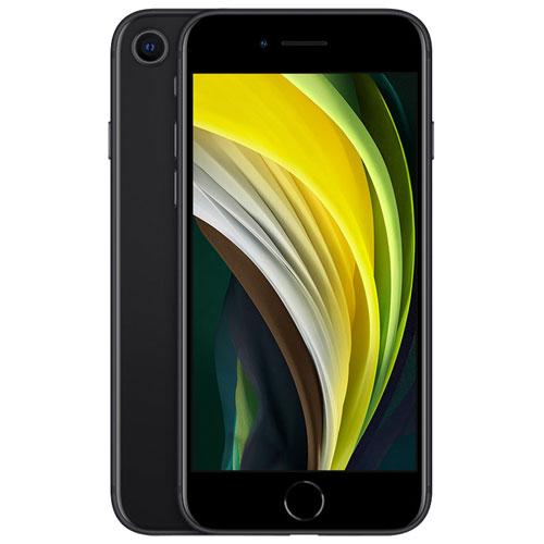 Telus Apple Iphone Se 128gb 2nd Generation Black Monthly Financing Best Buy Canada