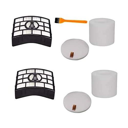 2Set Form /& Felt Filter Vacuum Cleaner For Shark Rotator NV680 NV681 NV682 NV800