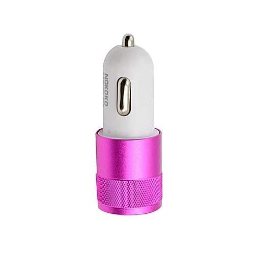 Brand NOKOKO Best Metal Dual USB Port Car Charger Universal