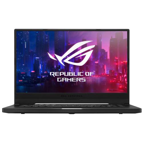 Asus Rog Zephyrus 15 6 Gaming Laptop Black Amd Ryzen 7 4800hs 1tb Ssd 16gb Ram Rtx 2060 En Best Buy Canada