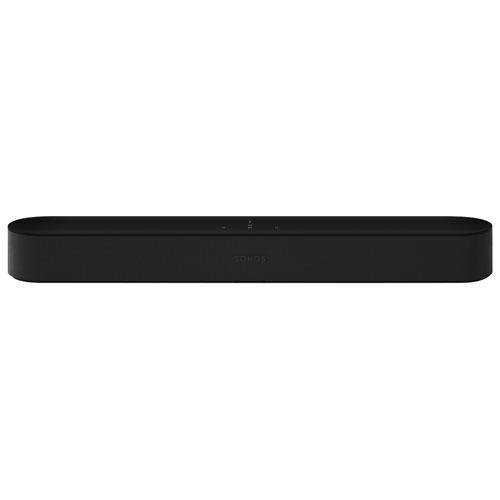 Sonos Beam - Barre de son intelligente pour téléviseur avec Alexa d'Amazon/Assistant Google - Noir - Boîte ouverte