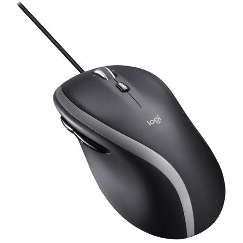 Logitech M500S Optical Mouse - Black