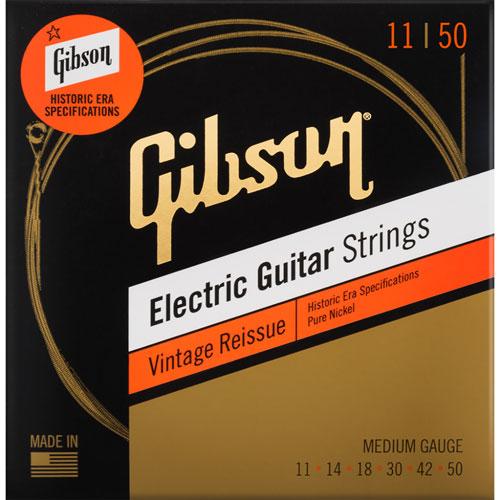 Gibson Vintage Reissue 0.011 - 0.05 Medium Gauge Electric Guitar Strings