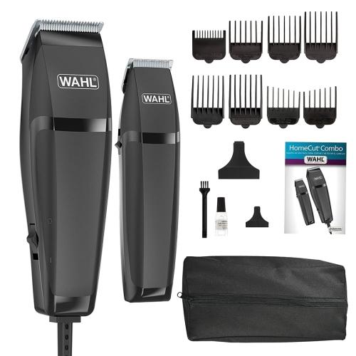 WAHL - Ensemble 15 Morceaux, Tondeuse à Cheveux et Tondeuse de Précision, Noir