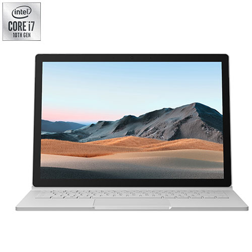 Surface Book 3 2-en-1 13,5 po Microsoft - Platine - Français