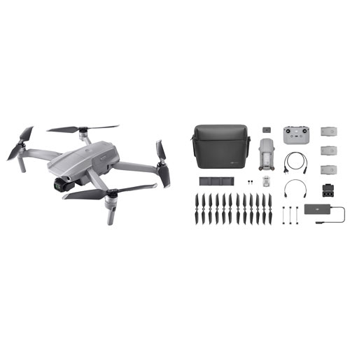 Dji Mavic Air 2 Quadcopter Drone Fly More Combo Grey Best Buy Canada
