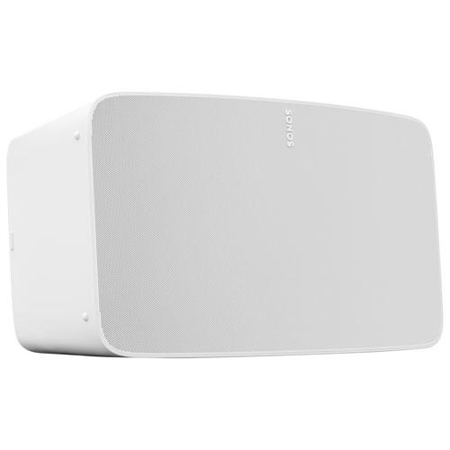 Haut-parleur multipièce sans fil Five de Sonos - Une unité - Blanc