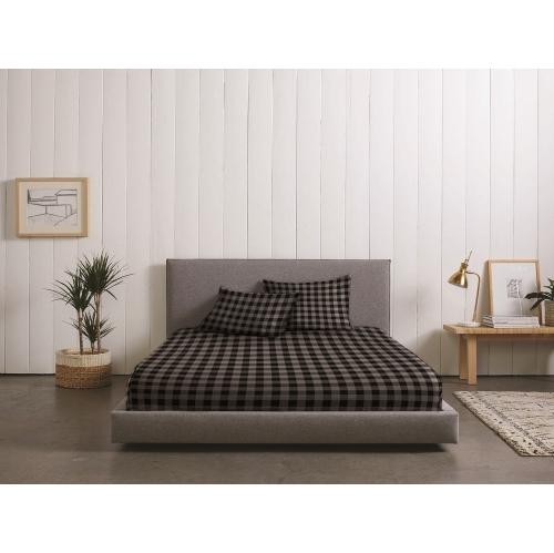 RC- Baldwin Flannel Sheet Set Grey Twin
