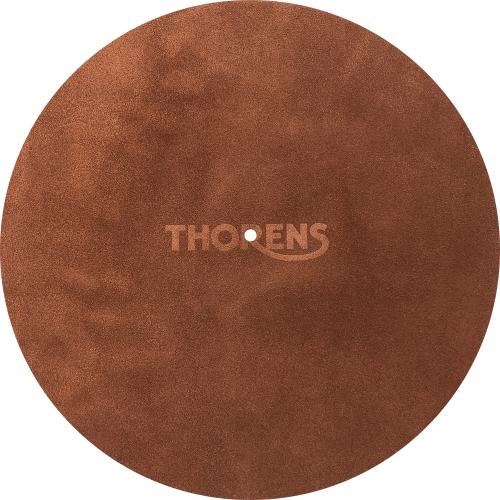 Thorens Premium Leather Mat Brown