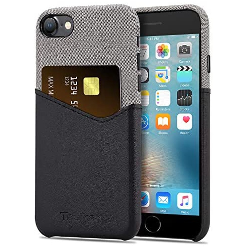Tasikar Compatible With Iphone Se 2020 Case Iphone 7 Case Iphone 8 Case With Card Holder Slot Wallet Case Leather Best Buy Canada