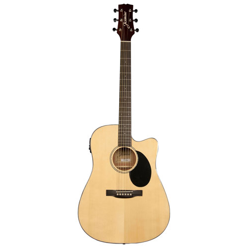 Jasmine Dreadnought Acoustic/Electric Guitar - Natural