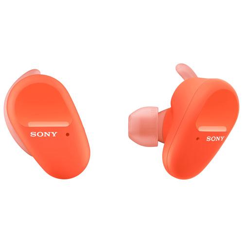 Sony In-Ear Noise Cancelling Truly Wireless Headphones - Orange