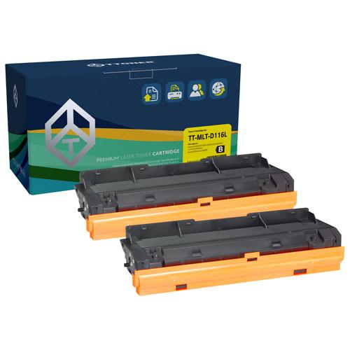 TToner Samsung Compatible Black Toner - 2 Pack