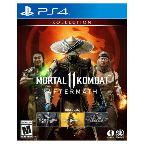 Mortal Kombat 11: Aftermath Kollection (PS4) | Best Buy Canada