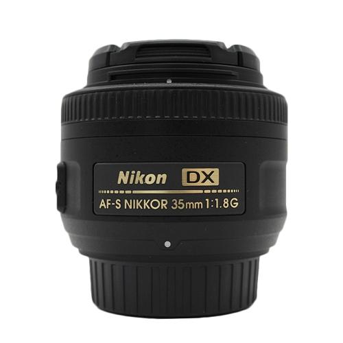 Nikon AF-S DX NIKKOR 35mm f/1.8G Lens - Open Box - International Version w/Seller Warranty