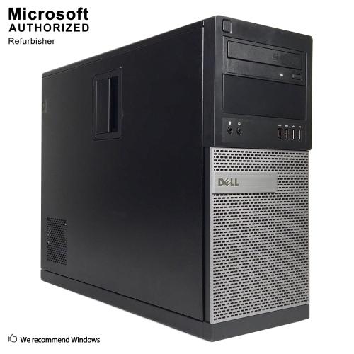 Dell OptiPlex 9020 Mini Tower, Intel Quad Core i7 4790 up to 4.0 GHz, 16G DDR3, 1T SSD, DVDRW, Win10P64-Refurbished