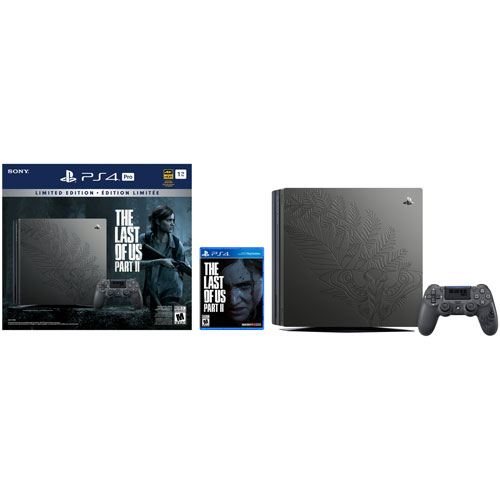 PlayStation 4 Pro 1TB The Last of Us Part II Limited Edition Bundle