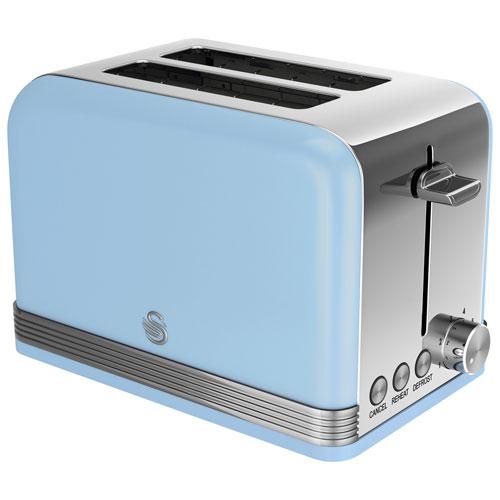 Swan Retro Toaster - 2 Slice - Blue