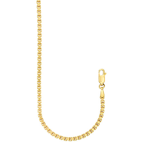 """Le Reve Collection 22"""" 14K Gold Filled Box Chain"""