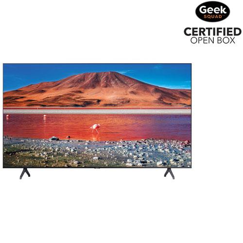 "Samsung 55"" 4K UHD HDR LED Tizen Smart TV - Titan Grey - Open Box"
