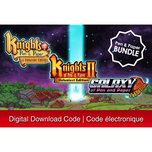 Pen and Paper Games Bundle - Digital Download