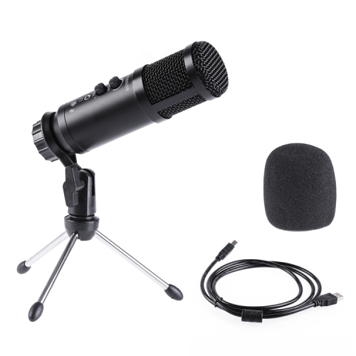 Pulselabz PL580 Studio Recording Microphone with Built-in Sound Echo - Broadcast - Recording - Singing - Live Stream