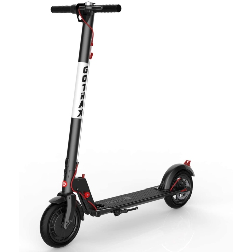 """GOTRAX XR Ultra Folding Commuting Electric Scooter w/ LG Battery - 8.5"""" Air Filled Tires - 15.5MPH and Big Lithium Battery and Fast Electric Scooter"""