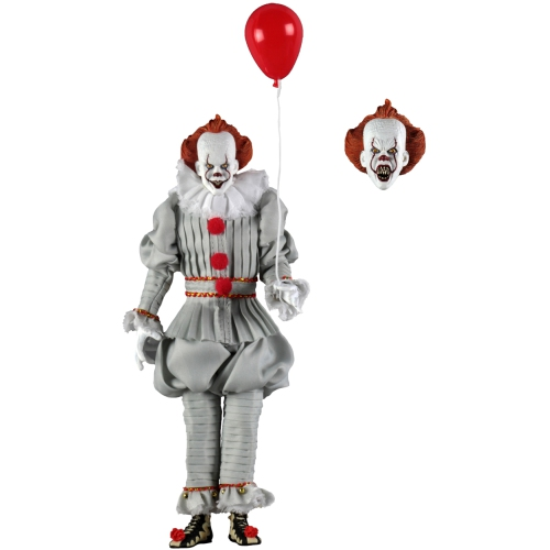 IT 2017 8 Inch Action Figure Retro Clothed Series - Pennywise