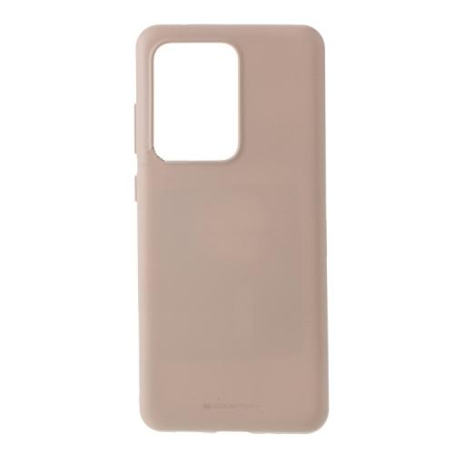 Coque en TPU TopSave Goospery Soft Feeling pour Samsung A51, sable rose