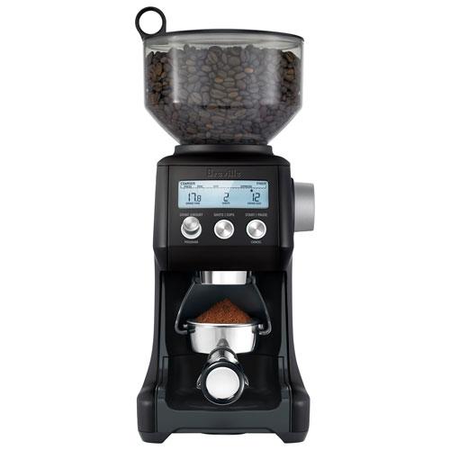 Breville Smart Grinder Pro Burr Coffee Grinder - Black Truffle