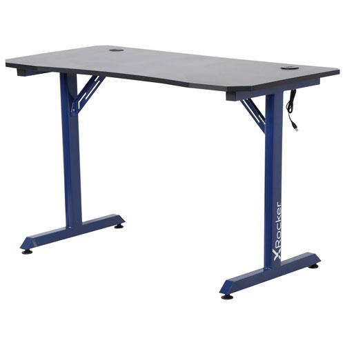 X Rocker Panther Gaming Desk - Blue