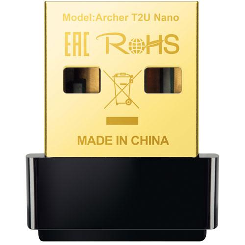 TP-Link Archer T2U Nano AC600 Wireless USB Adapter